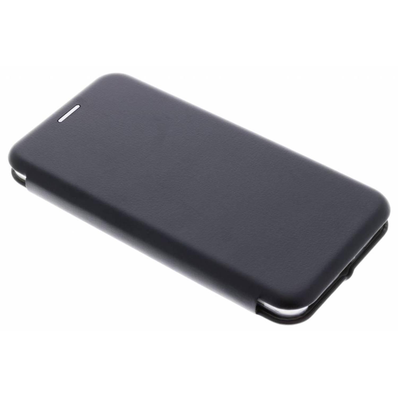 Zwarte Slim Foliocase voor de Huawei Y6 (2017)