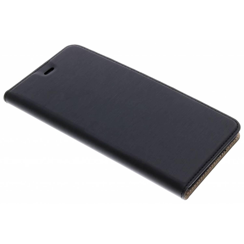 Zwarte Slim Booklet Case voor de Huawei P10 Lite