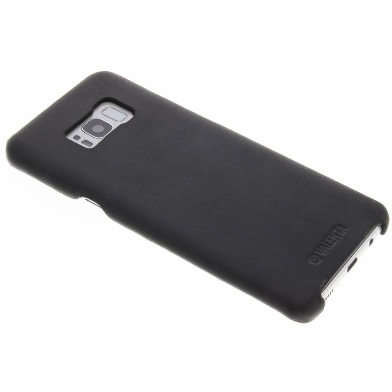 Zwarte Back Cover Classic voor de Samsung Galaxy S8 Plus