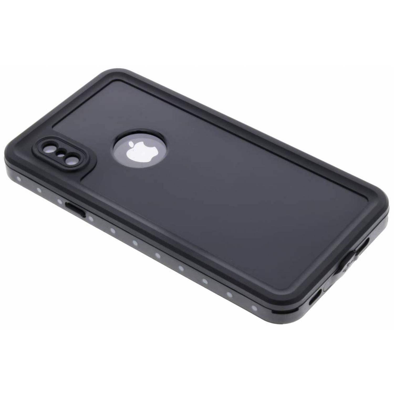Zwarte Dot Waterproof Case voor de iPhone X