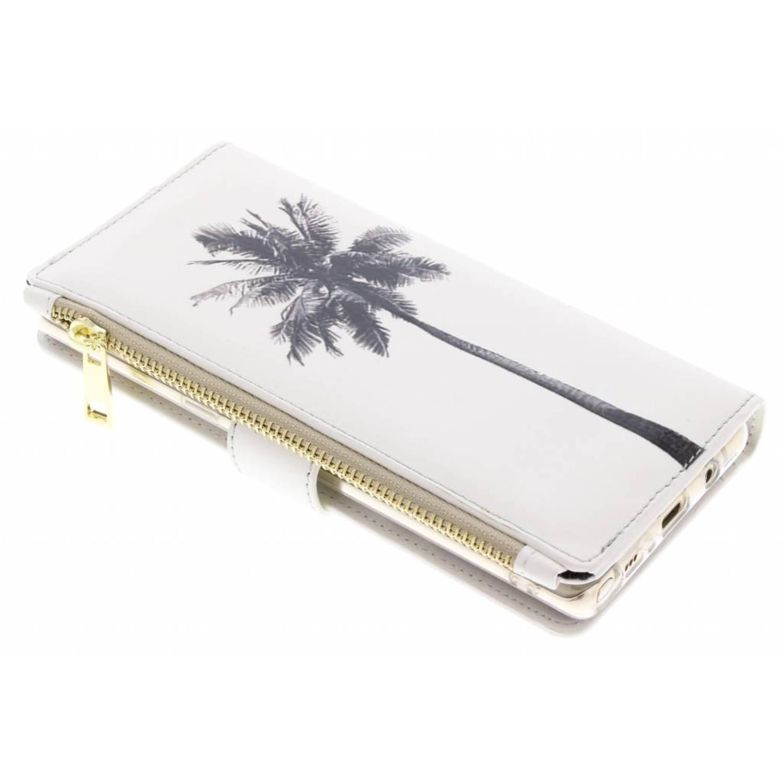 Palmtree design luxe portemonnee hoes voor de Samsung Galaxy Note 8