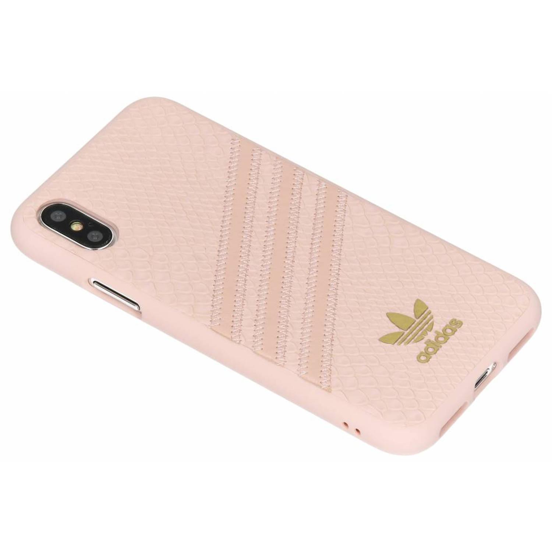 Roze Moulded Snake Case voor de iPhone X