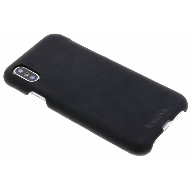 Vintage Zwarte Back Cover Classic voor de iPhone Xs / X