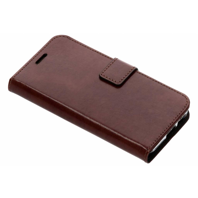 Bruine Booklet Leather voor de Samsung Galaxy A3 (2017)