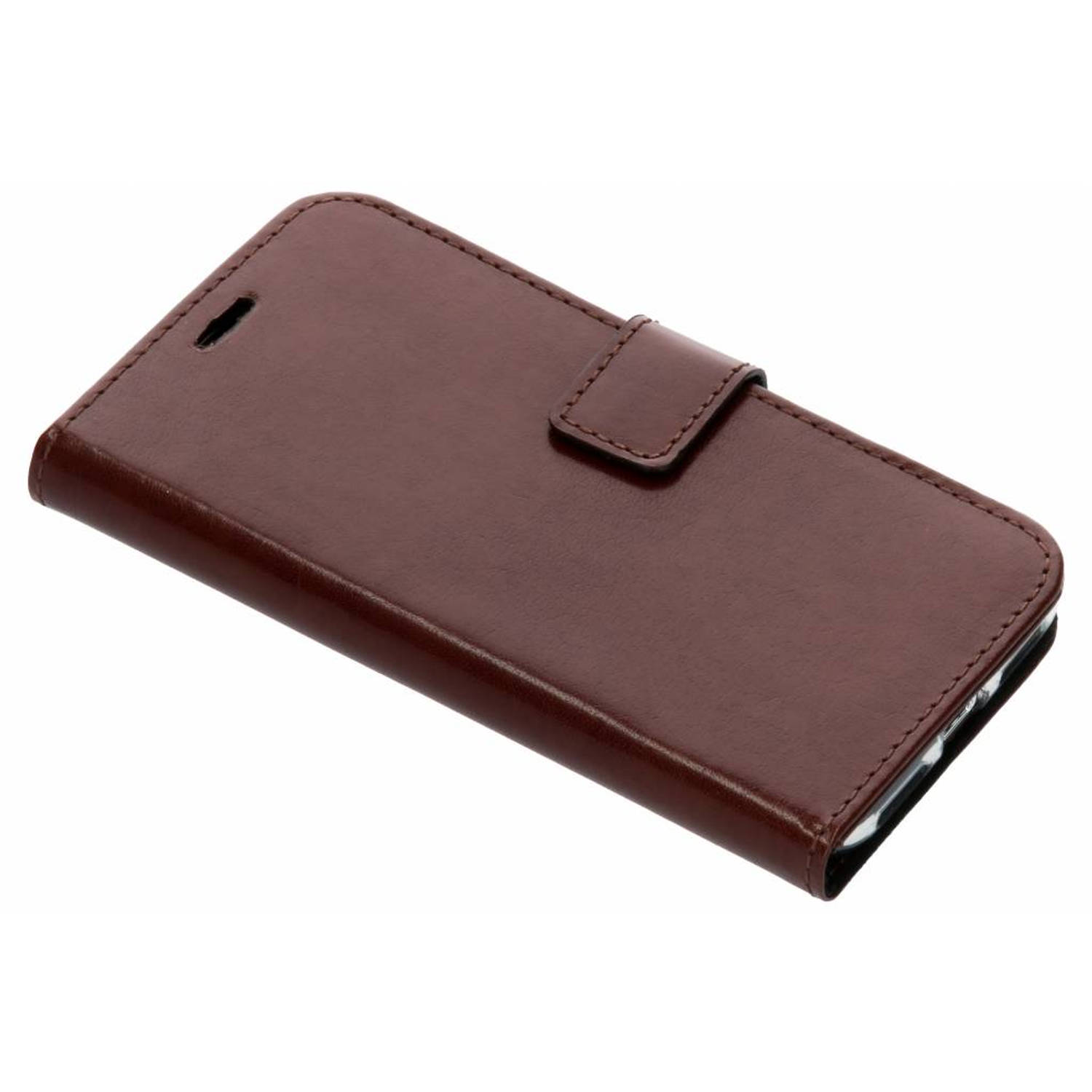 Bruine Booklet Leather voor de iPhone Xs / X
