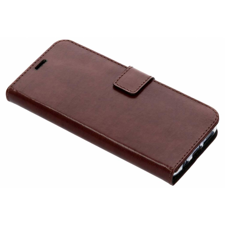 Bruine Booklet Leather voor de Samsung Galaxy S8