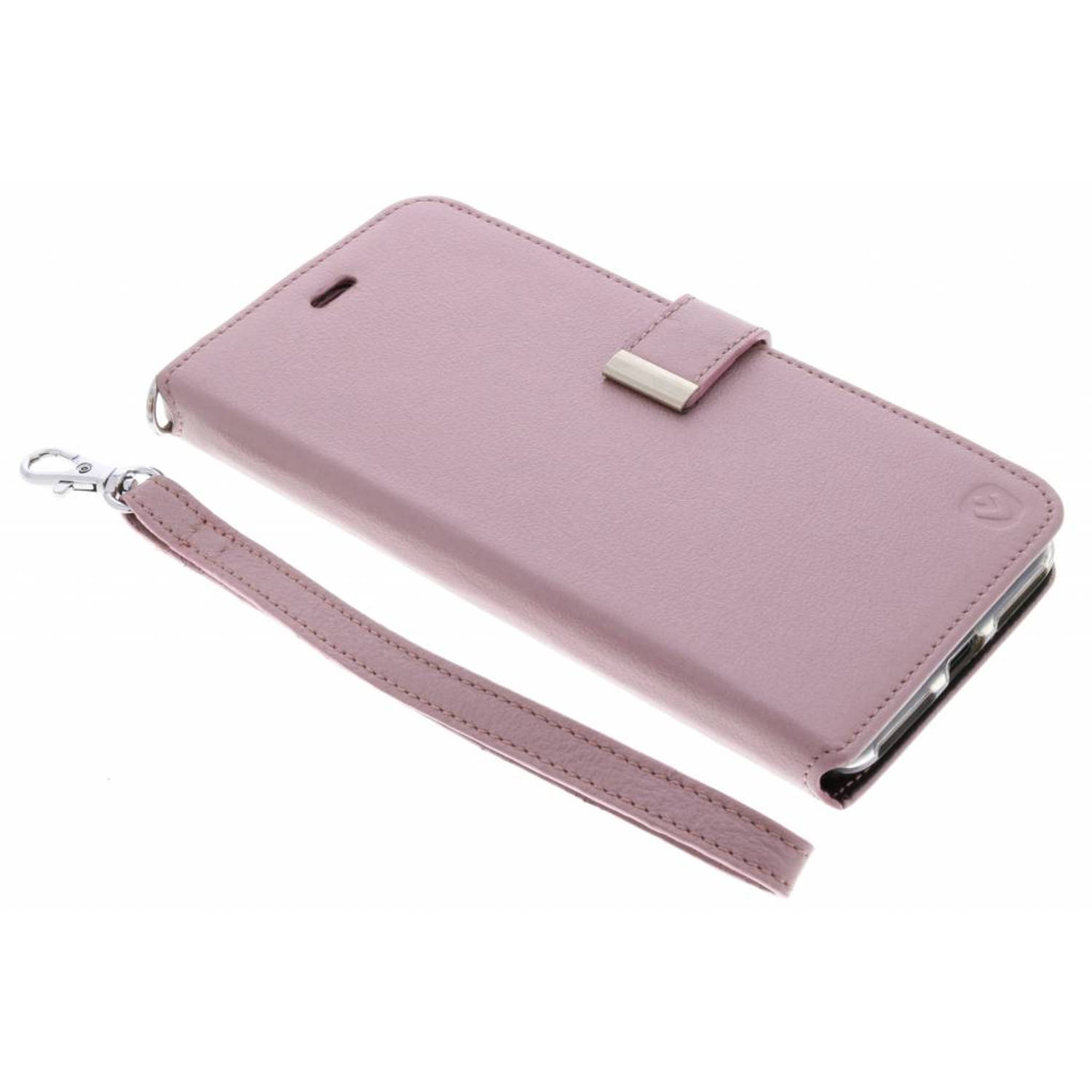 Roze Booklet Premium Handstrap voor de iPhone 8 Plus / 7 Plus