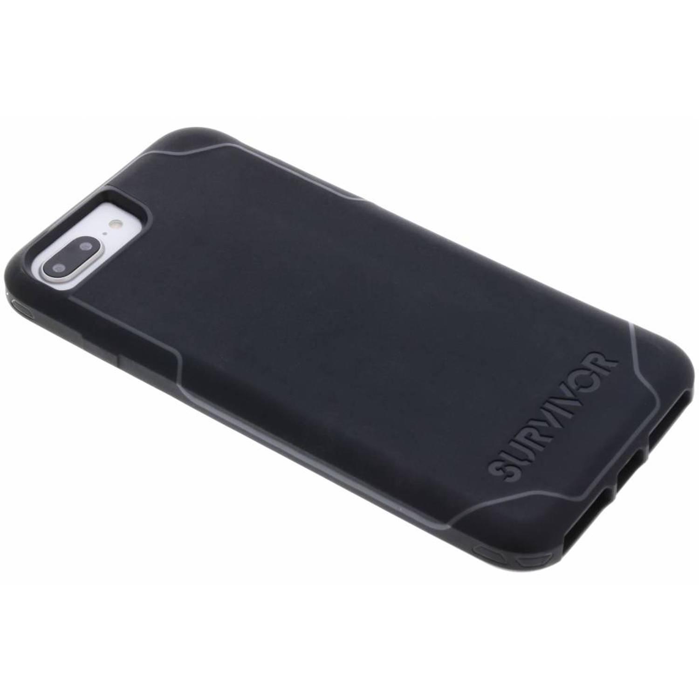 Zwarte Survivor Strong Case voor de iPhone 8 Plus / 7 Plus / 6(s) Plus