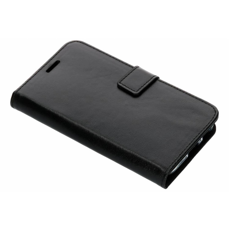 Zwarte Booklet Leather voor de Samsung Galaxy J3 (2017)