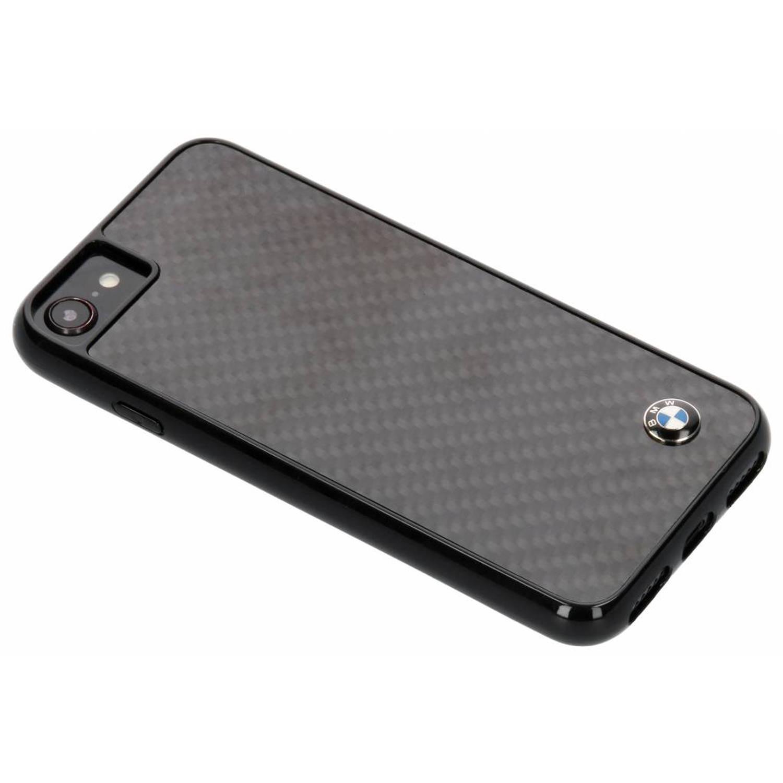 Zwarte Real Carbon Fiber Hard Case voor de iPhone 8 / 7 / 6s / 6