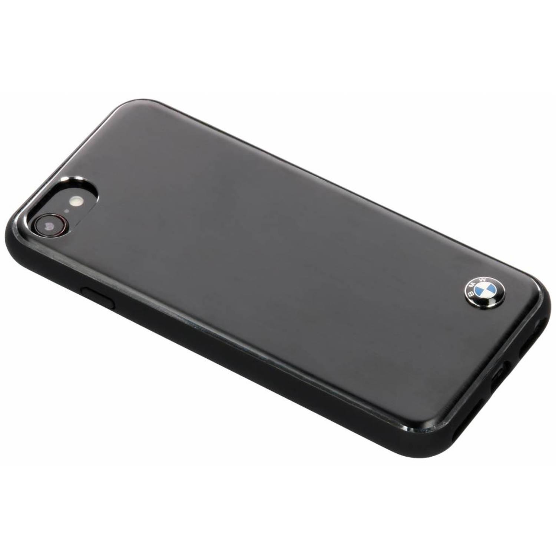 Zwarte Brushed Aluminium Hard Case voor de iPhone 8 / 7 / 6s / 6