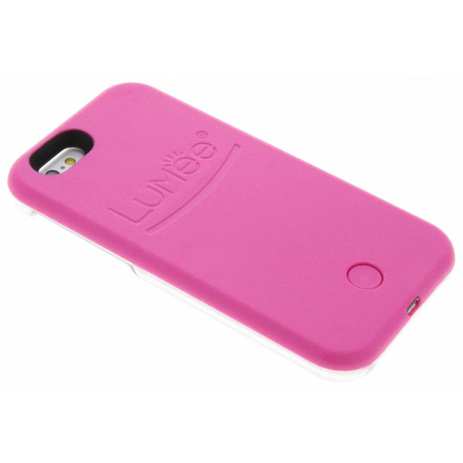 Roze Lighted Hard Case voor de iPhone 6 / 6s