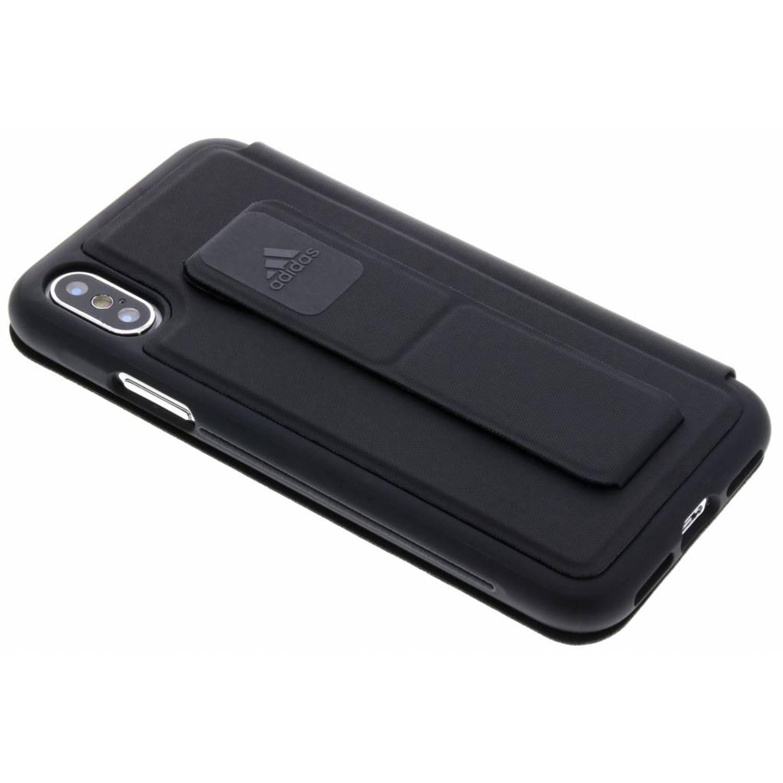 Image of Zwarte Folio Grip Case voor de iPhone Xs / X