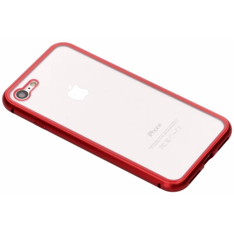 Rood magnetisch hoesje voor de iPhone 8 / 7