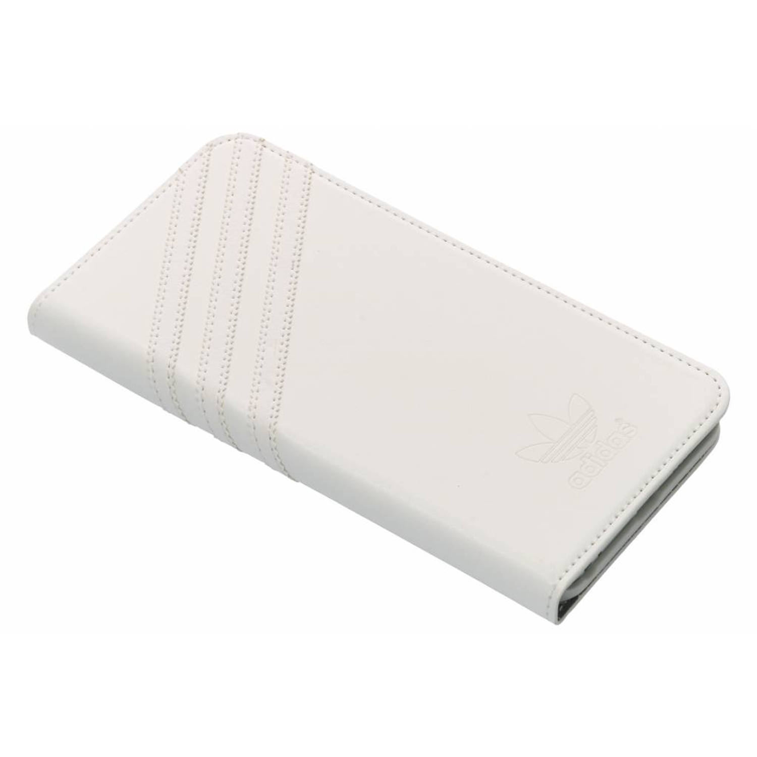 Witte Basics Booklet Case voor de iPhone 6(s) Plus