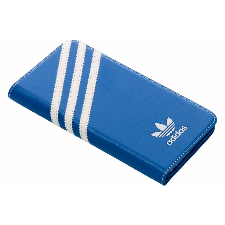 Blauwe Basics Booklet Case voor de iPhone 6(s) Plus