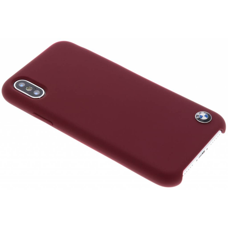 Rode Silicone Hard Case voor de iPhone Xs / X