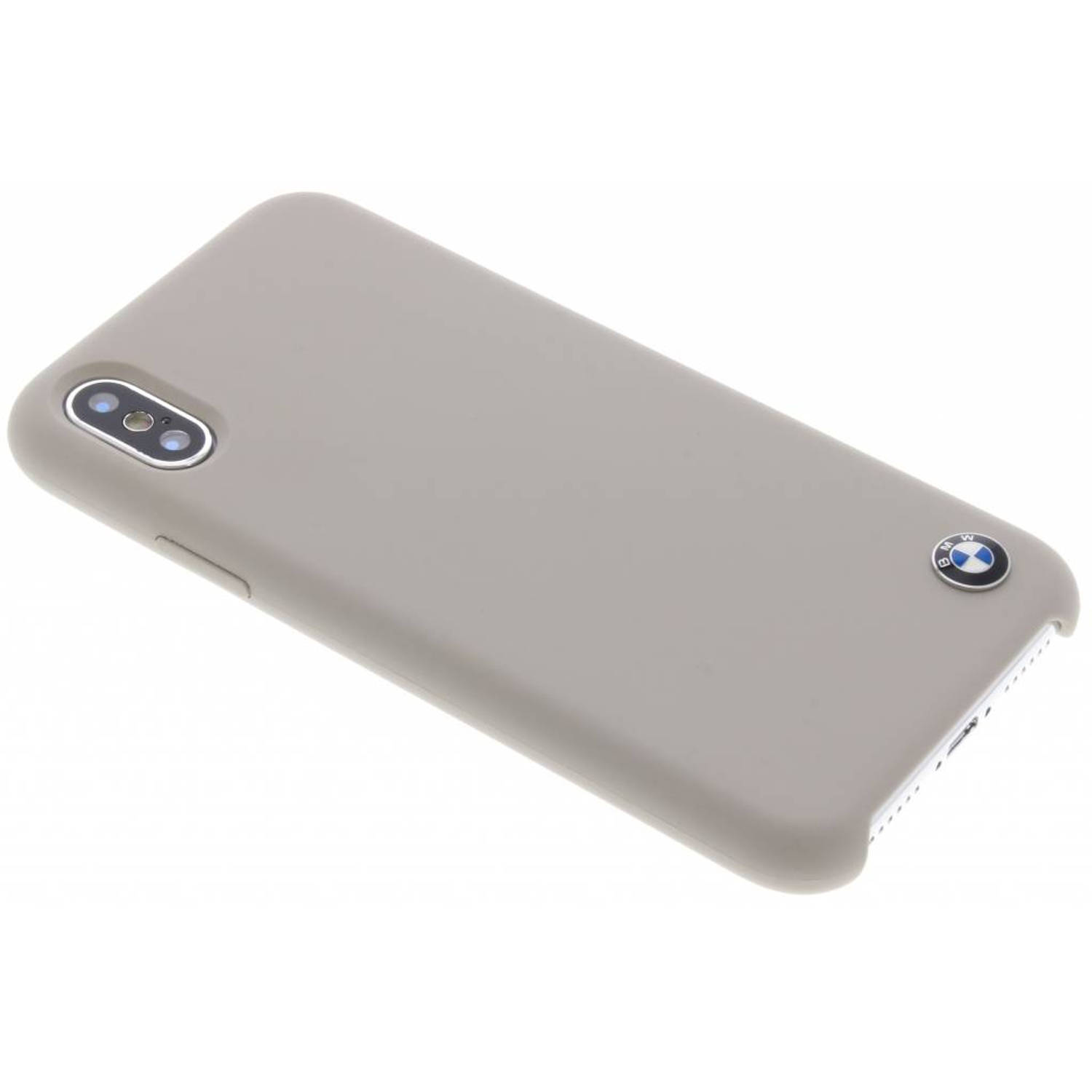 Taupe Silicone Hard Case voor de iPhone Xs / X