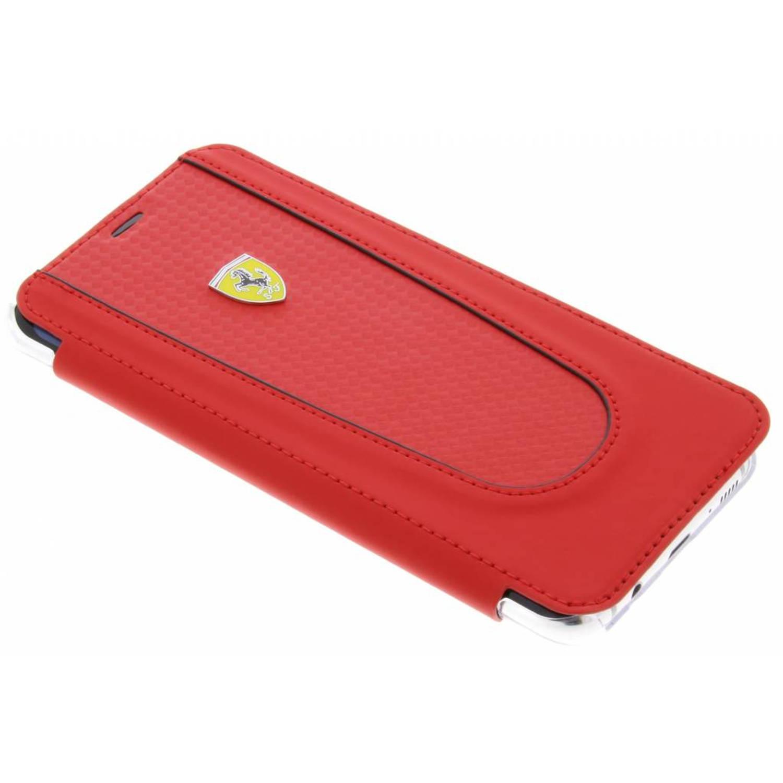 Rode Book Cover voor de Samsung Galaxy S8 Plus