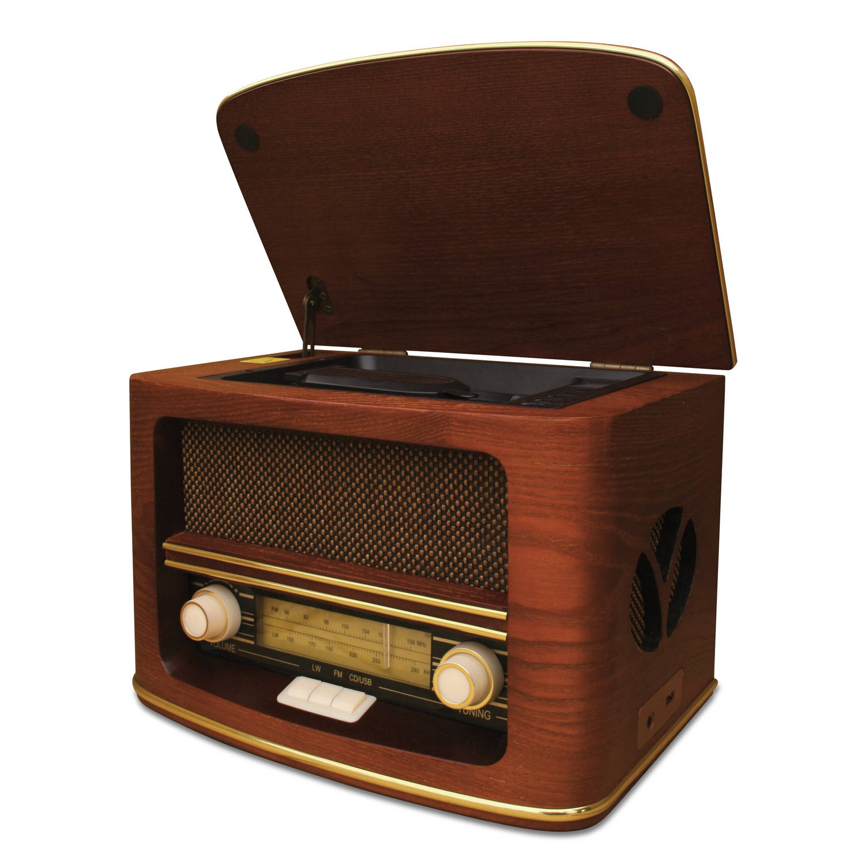 Camry CR 1115 Retro radio met CD/MP3 en recording