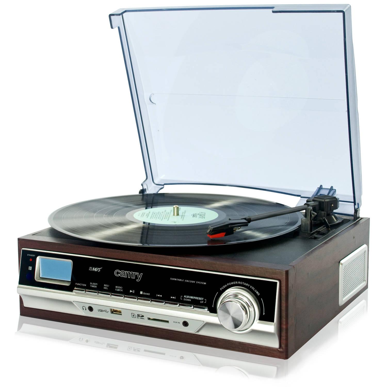 Camry CR 1114 Draaitafel met SD/MMC/USB stereo recording naar MP3!