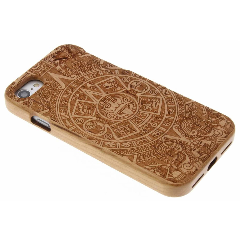 Aztec houten hardcase hoesje met print voor de iPhone 7