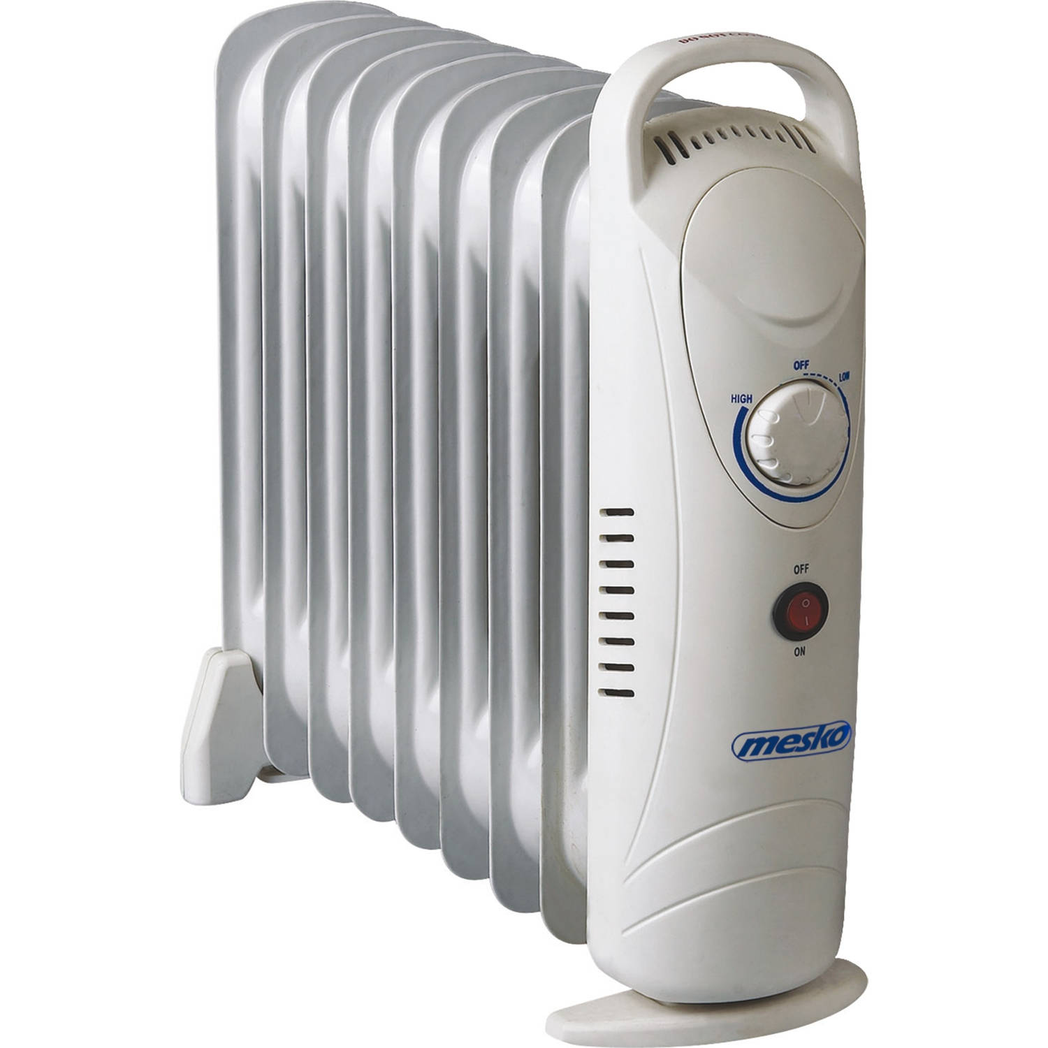 Mesko MS 7805 olie gevulde radiator met 9 ribben ultra power