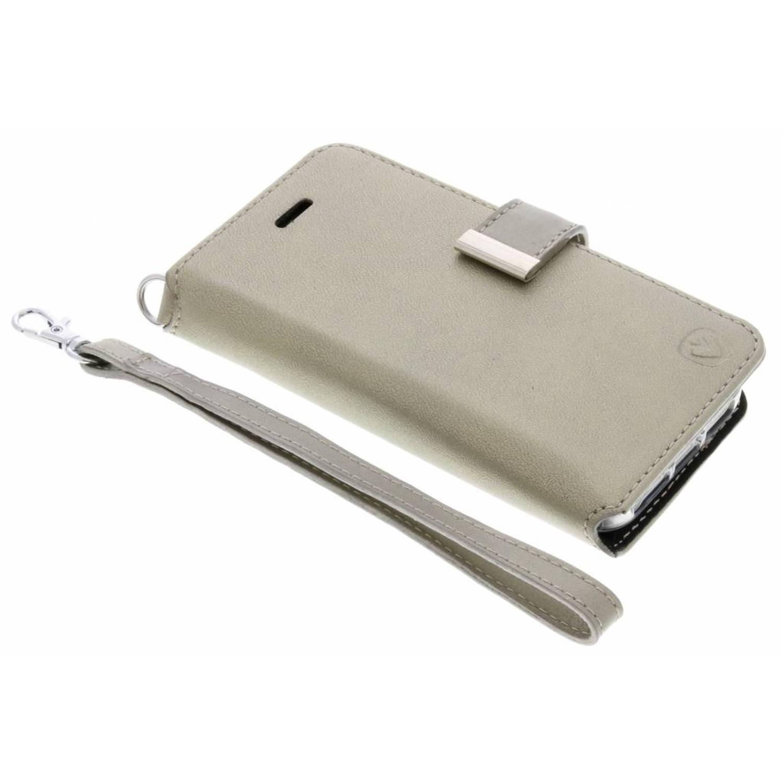 Gouden Booklet Premium Handstrap voor de iPhone 5 / 5s / SE