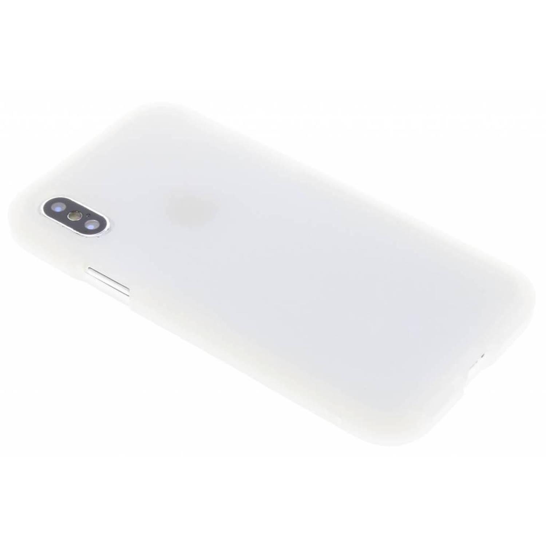 Witte Agravic Case voor de iPhone Xs / X