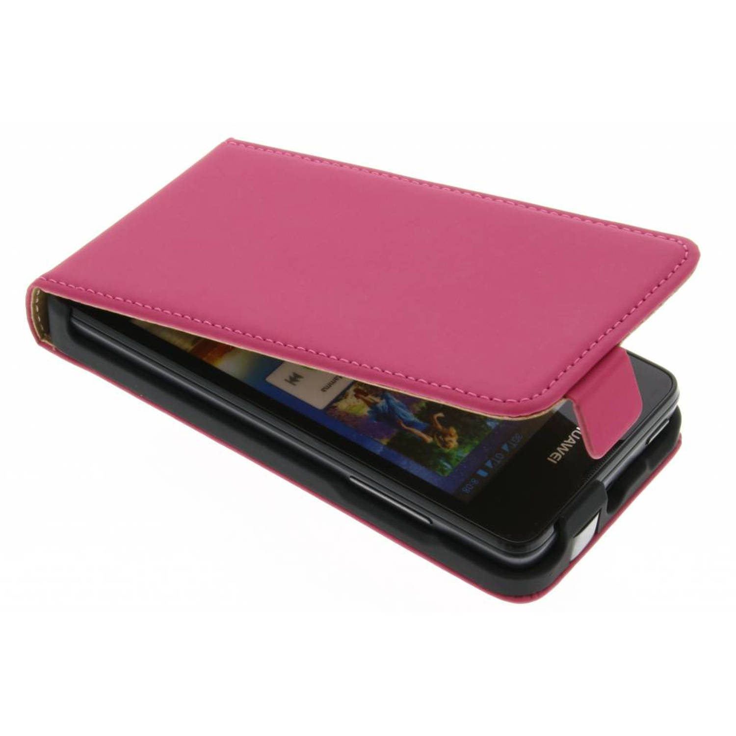 Mobiparts Premium Flip Case Huawei Ascend Y300 Pink