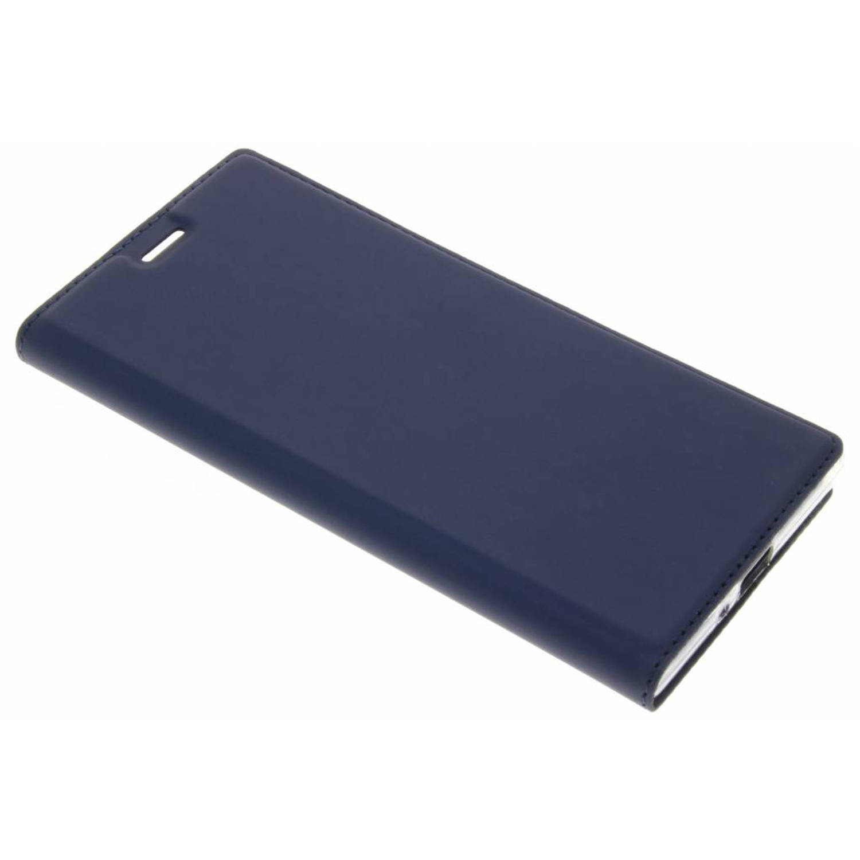Blauwe Slim TPU Booklet voor de Sony Xperia XZ