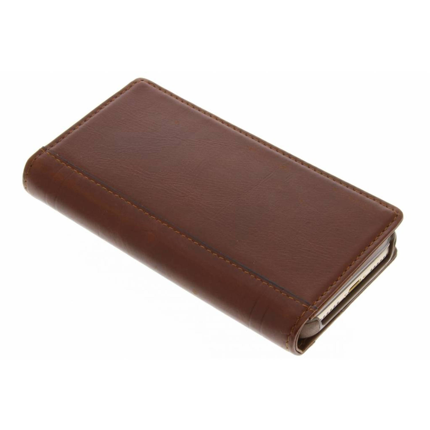 Journal Wallet Case voor de iPhone 8 / 7 - Cognac