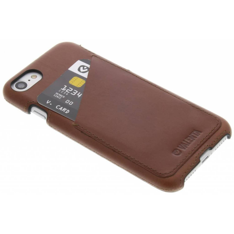 Back Cover Classic Luxe voor de iPhone 8 / 7 - Bruin