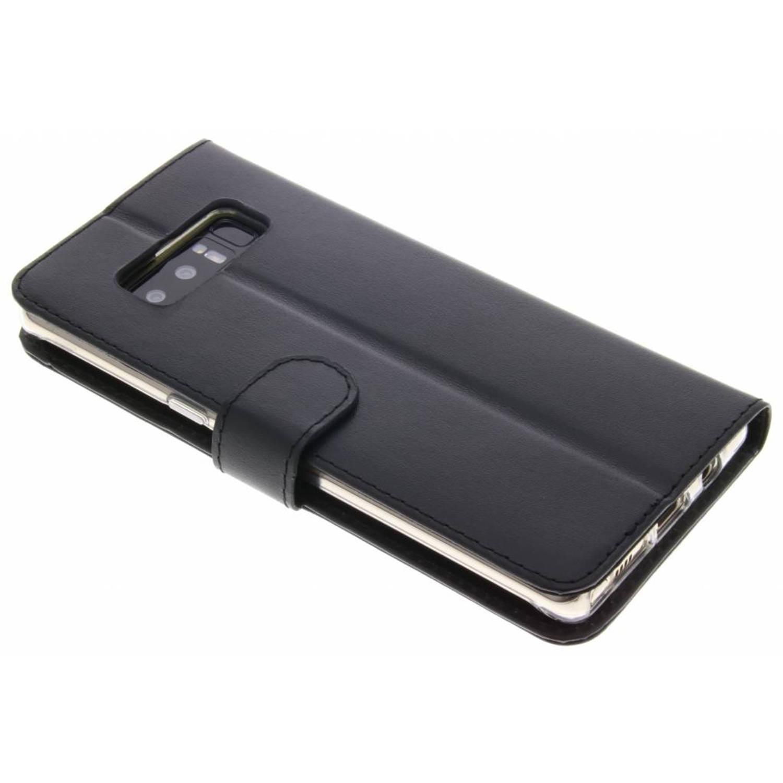 Zwarte Booklet Classic Luxe voor de Samsung Galaxy Note 8