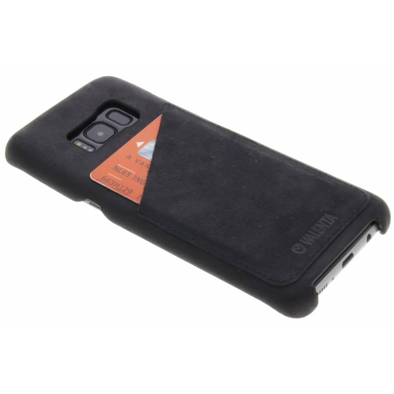 Zwarte Back Cover Classic Luxe voor de Samsung Galaxy S8