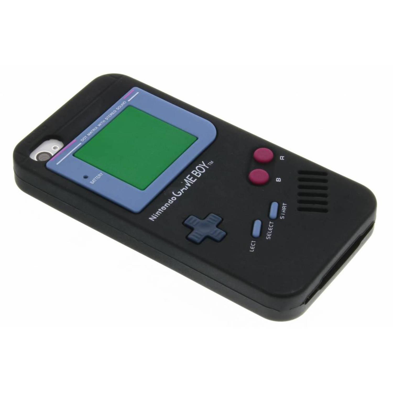 Siliconen hoesje Gameboy voor iPhone 4-4s