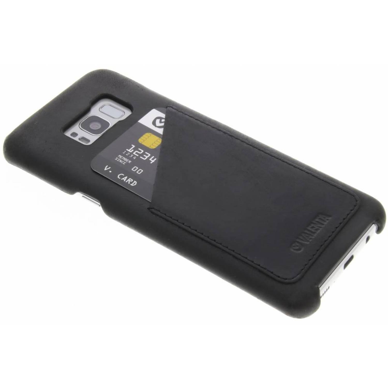 Zwarte Back Cover Classic Luxe voor de Samsung Galaxy S8 Plus