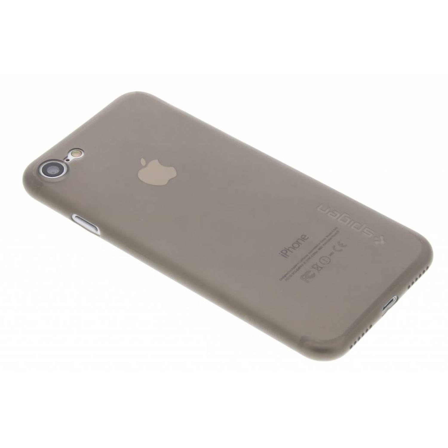 Zwart transparante Airskin Backcover voor de iPhone 8 / 7