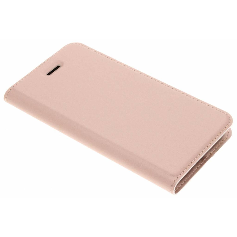 Rosé Gouden Slim TPU Booklet voor de iPhone 8 / 7