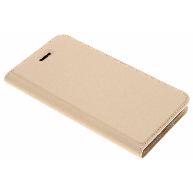 Gouden Slim TPU Booklet voor de iPhone 8 / 7