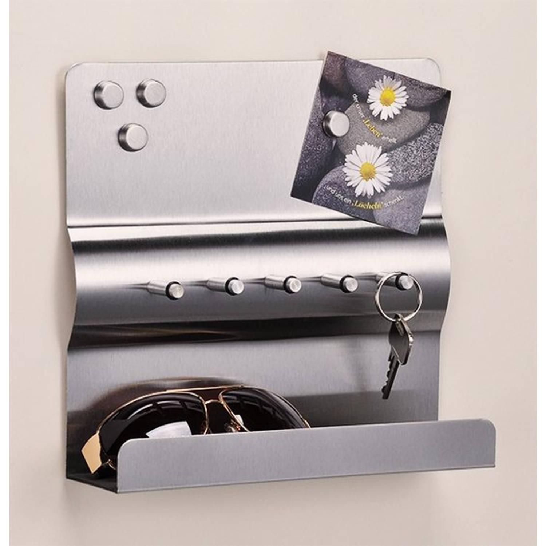 Haushalt 98069 Sleutelrek met RVS magneetbord