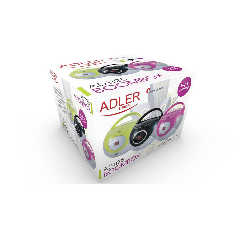 Afbeelding van Adler AD 1125b radio cd-speler zwart