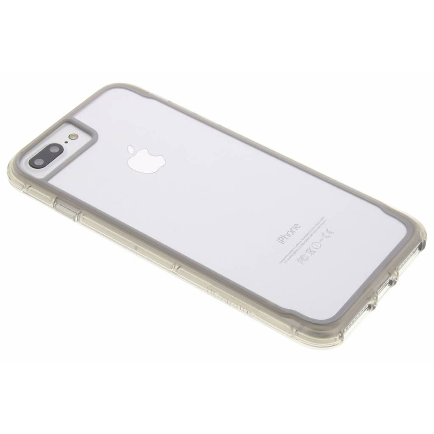 Griffin Survivor Clear iPhone 7+-Dual-6-s+ Gry-Slvr-Clr (GB42318)