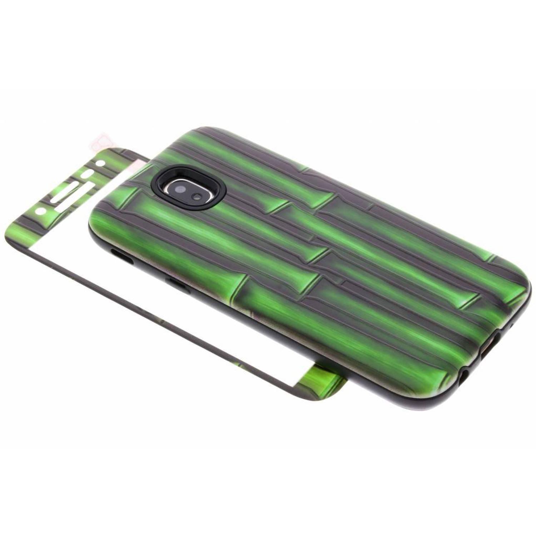 360° Bamboo design hardcase voor de Samsung Galaxy J5 (2017)