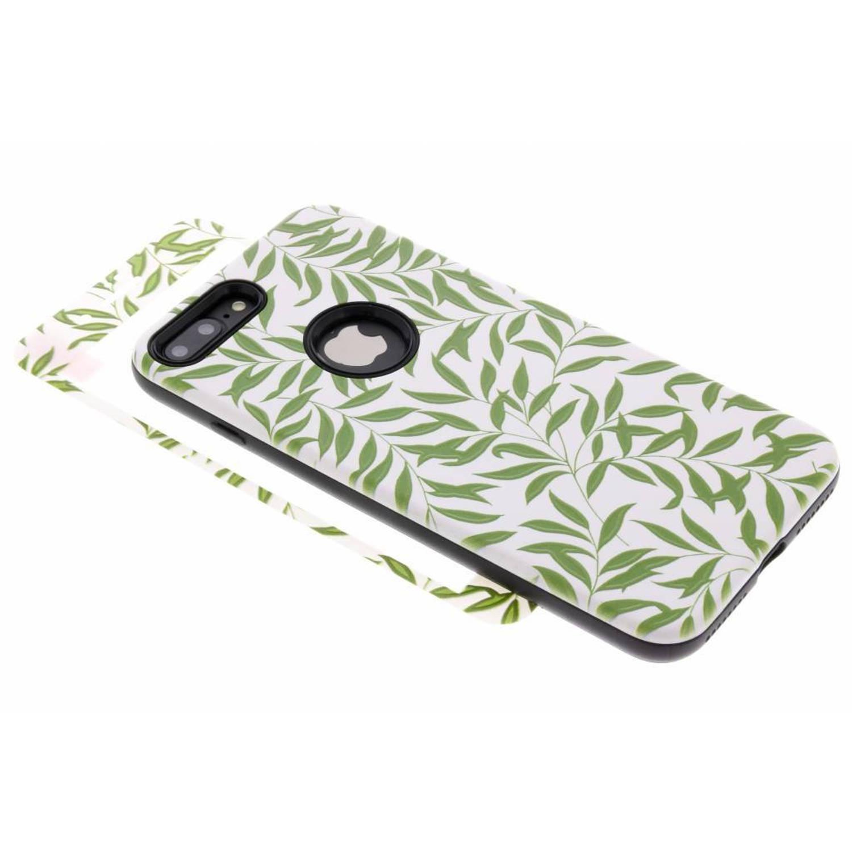360° Bladeren design hardcase voor de iPhone 8 Plus / 7 Plus