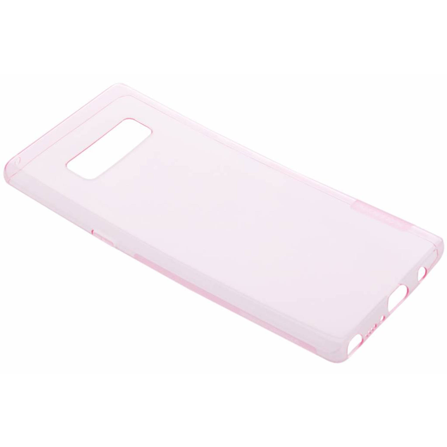 Roze Nature TPU case voor de Samsung Galaxy Note 8