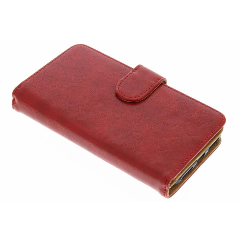 Rode 14-vaks Wallet Case voor de iPhone 8 / 7
