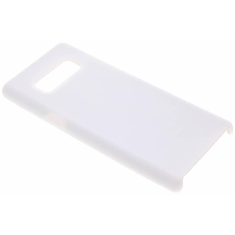 Witte siliconen hoes voor de Samsung Galaxy Note 8