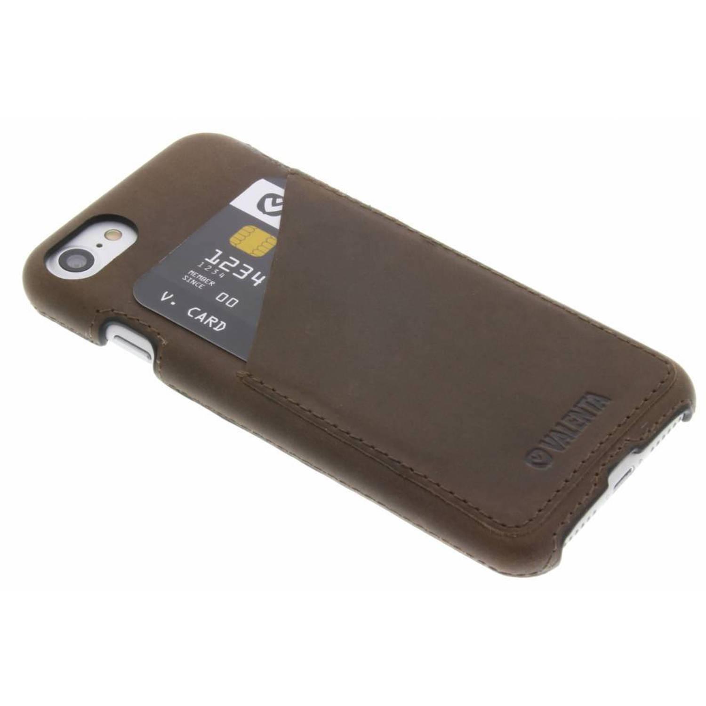 Back Cover Classic Luxe voor de iPhone 8 / 7 - Vintage bruin
