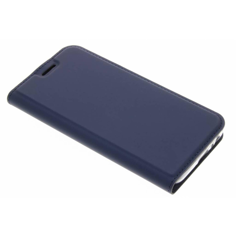 Blauwe Slim TPU Booklet voor de Samsung Galaxy A3 (2017)